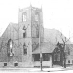 Original Church Building at 100 Erie St Valpo
