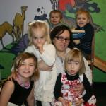 Zeke, Cooper, Raleigh, Rita, Gabby, Myrna Jan 2012