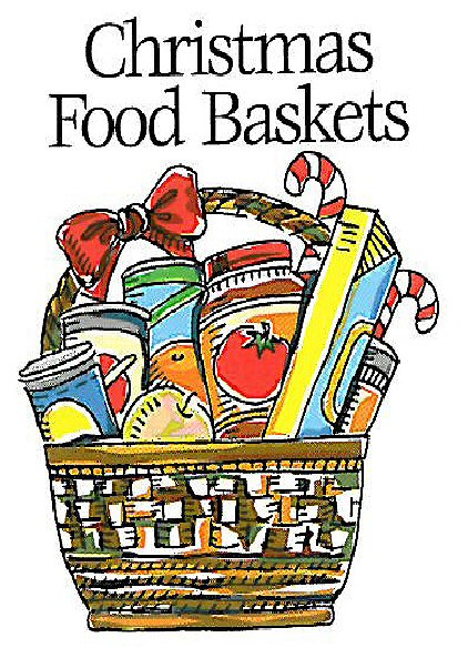 Clip Art Christmas Basket : Christmas food pantry st andrew s episcopal church